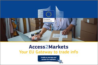 """Europos Komisija pristatė naują duomenų bazę """"Access2Markets"""""""