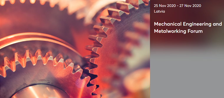 "Nuotolinis verslo forumas ""Mechanical Engineering and Metalworking""."